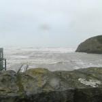 Pendine High Tide 1, 09 Feb 2014