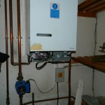 damaged boiler